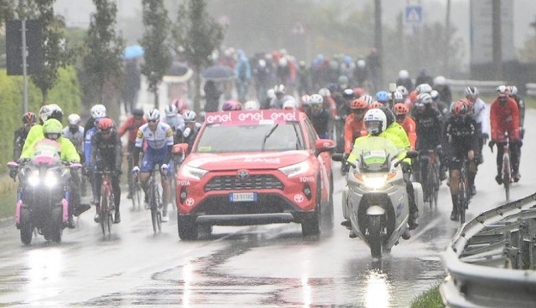 Tour d'Italie - Le départ repoussé à 14h30, 124 km sont au programme