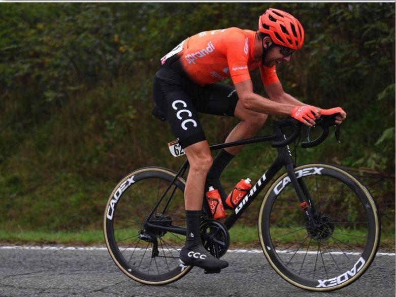 Tour d'Italie - Cerny : «Je ne peux pas décrire ce que je ressens»