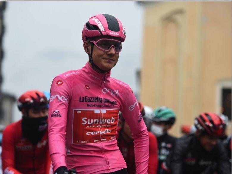 Tour d'Italie - Wilco Kelderman en rose : «Je suis plutôt confiant...»