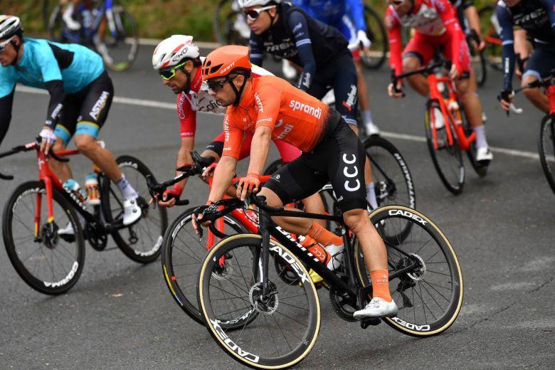 Tour d'Espagne - Jakub Mareczko : «Troisième, c'est un bon début»