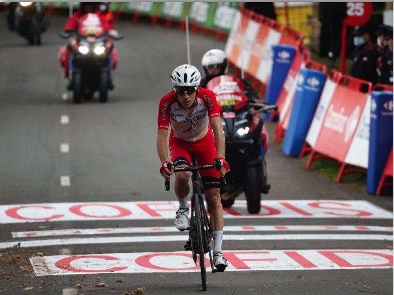 Tour d'Espagne - G. Martin : «Une montée longue m'aurait avantagé»