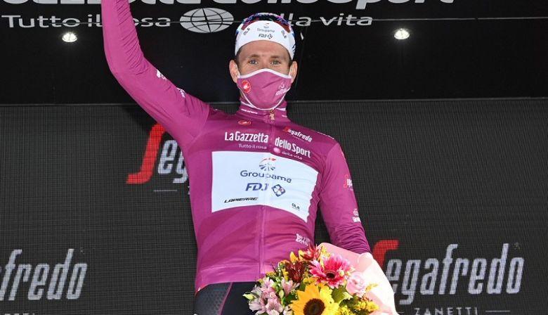Tour d'Italie - Démare  : «Le cyclamen, c'est la cerise sur le gâteau»