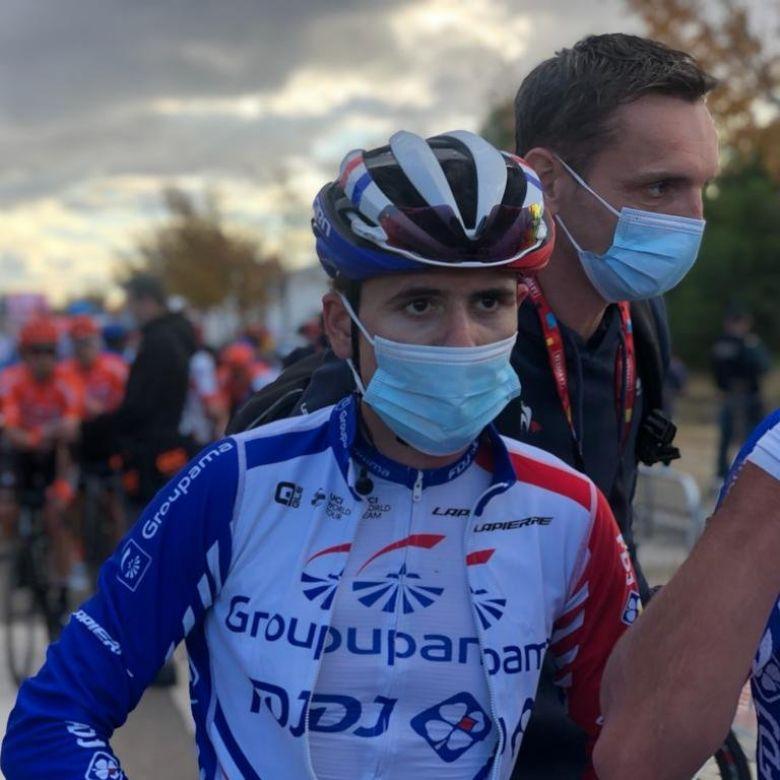 Tour d'Espagne - David Gaudu : «Je suis tombé presque à l'arrêt»