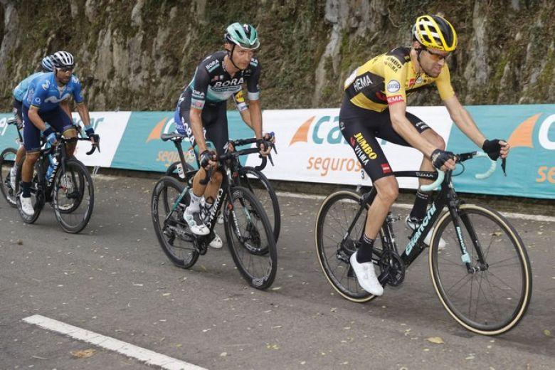 Tour d'Espagne - Felix Grossschartner : «Important d'être bien placé»