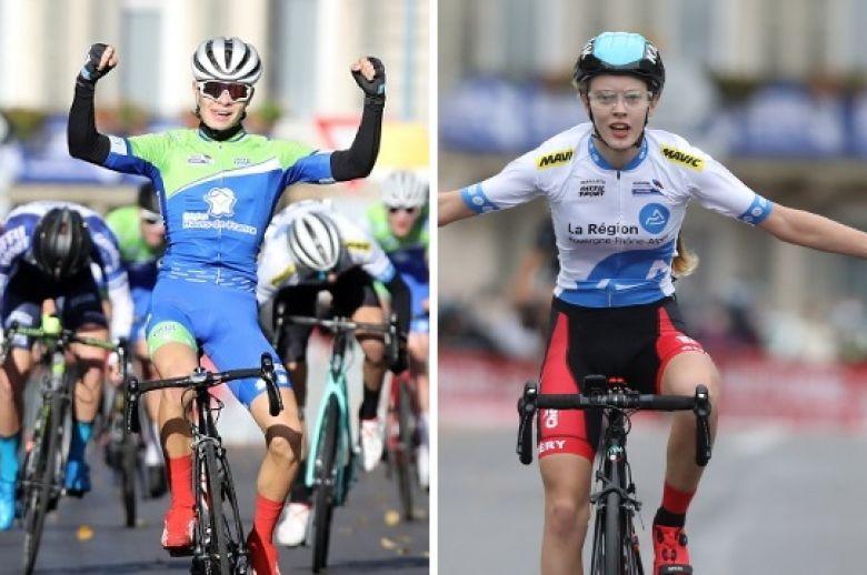 France - Route - Les jeunes Mathis Pichon et Julie Bégo titrés