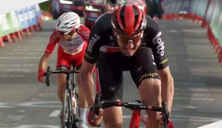 Tour d'Espagne - Wellens, Guillaume Martin... le résumé de la 5e étape