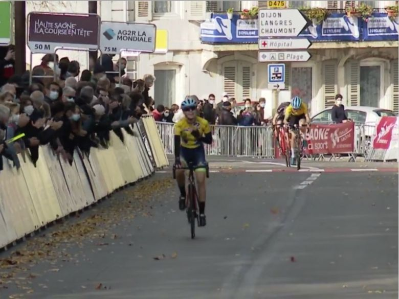 France - Route  - La junior Coline Raby remporte le titre en solitaire
