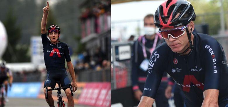 Tour d'Italie - Froome soutient Geoghegan Hart : «J'ai foi en Tao !»