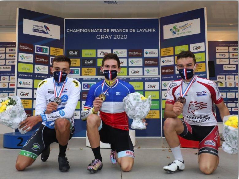France - Route  - Romain Grégoire décroche l'or chez les Juniors