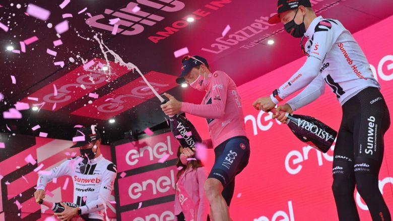 Tour d'Italie - Kelderman : «Super heureux de ma troisième place»