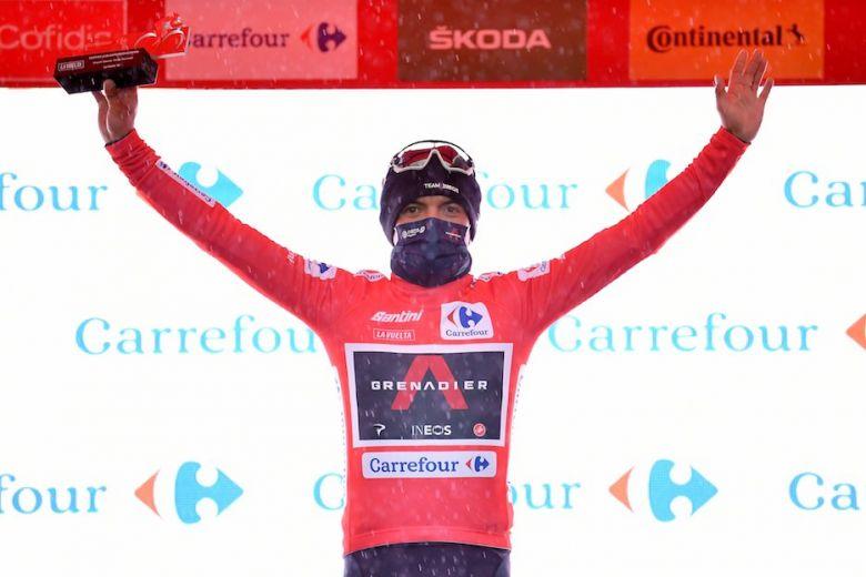 Tour d'Espagne - Carapaz : «On a tenté un coup et ça a fonctionné... »