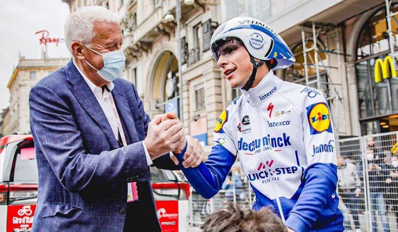Tour d'Italie - Almeida : «Finir quatrième, c'est époustouflant !»
