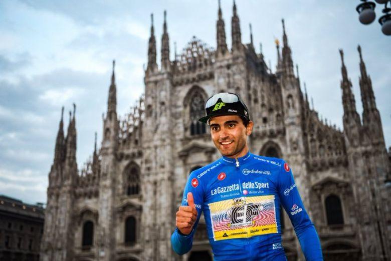 Tour d'Italie - Guerreiro : «Une grande motivation pour le futur»