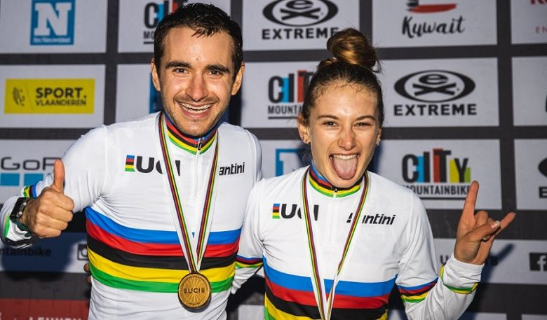 VTT - Titouan Perrin-Ganier et Isaure Medde sacrés champions du monde