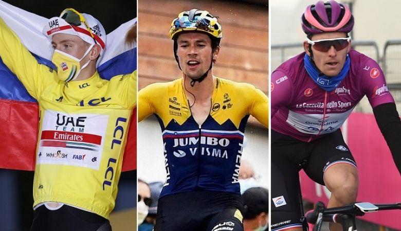 Classement UCI - Pogacar devant Roglic... Alaphilippe 6e, Démare 10e !