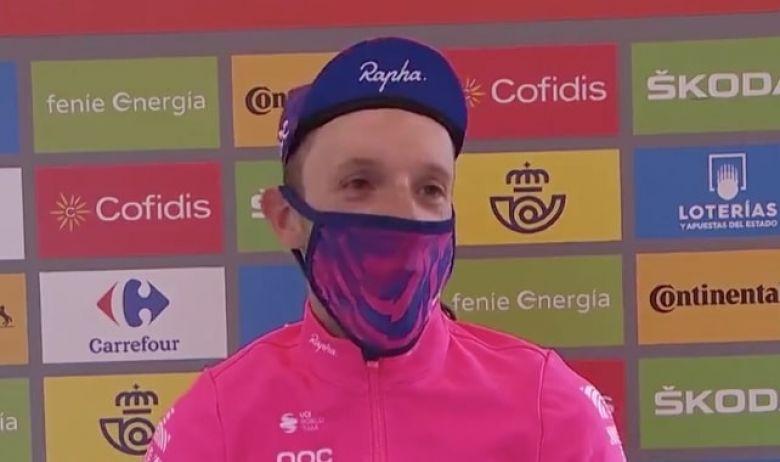Tour d'Espagne - Michael Woods : «Je ne devais pas prendre l'échappée»