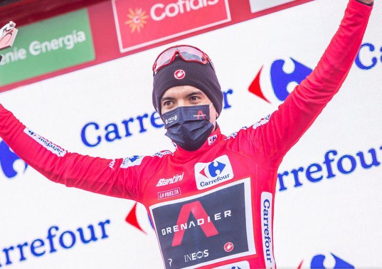 Tour d'Espagne - Carapaz : «On a gardé la situation sous contrôle»