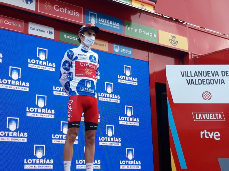 Tour d'Espagne - Guillaume Martin : «Garder ce maillot jusqu'à Madrid»