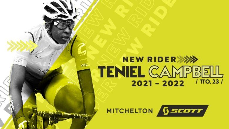 Transfert (F) - Teniel Campbell s'engage avec la Mitchelton-Scott