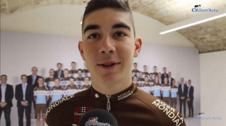 Tour d'Espagne - Champoussin, 10e : «J'ai fait une montée correcte»