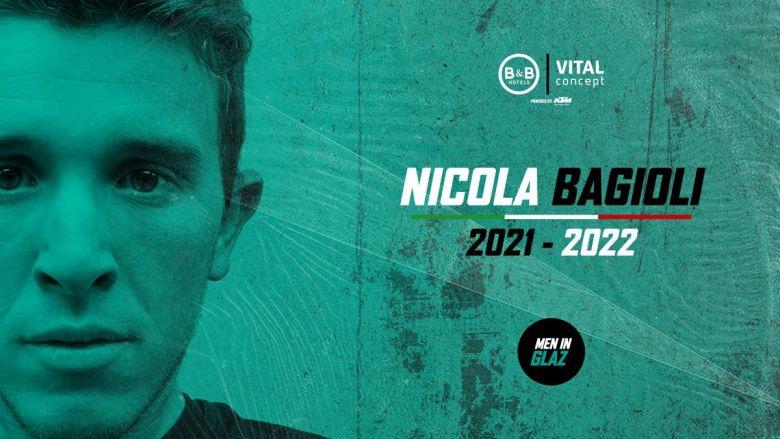 Transfert - Nicola Bagioli chez B&B Hotels-Vital Concept jusqu'en 2022