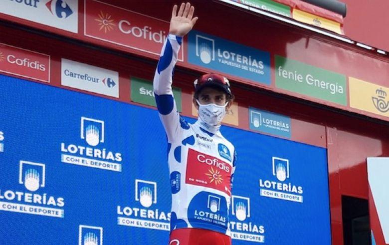 Tour d'Espagne - G. Martin: «C'est très plaisant de porter ce maillot»