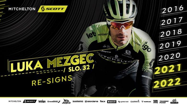 Route - Luka Mezgec rempile avec Mitchelton-SCOTT jusqu'en 2022