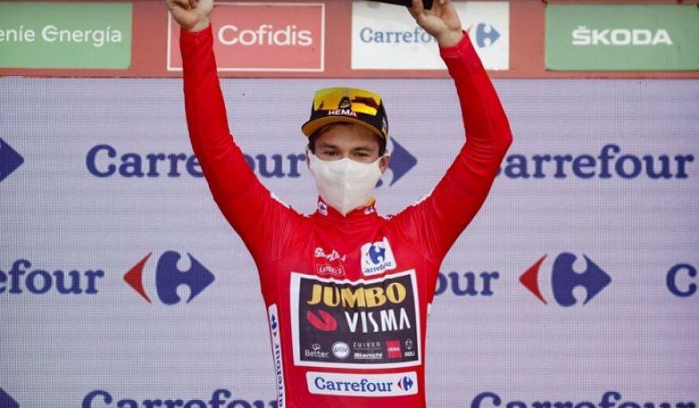Tour d'Espagne - Roglic : «Ce n'est pas une réponse à Richard Carapaz»