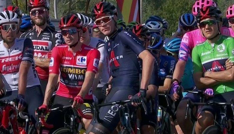 Tour d'Espagne - INEOS et Froome protestent, le départ a été retardé
