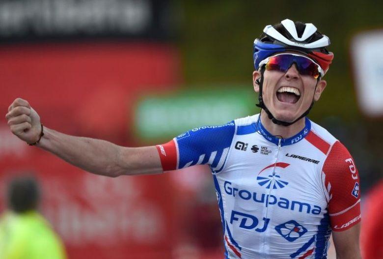 Tour d'Espagne - Gaudu : «J'espère que cette victoire sera un déclic»
