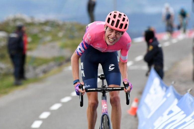 Tour d'Espagne - Hugh Carthy : «L'Angliru, un rêve devenu réalité»