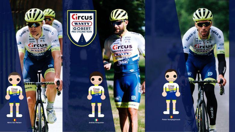 Route - Circus-Wanty Gobert prolonge Pasqualon et deux autres coureurs