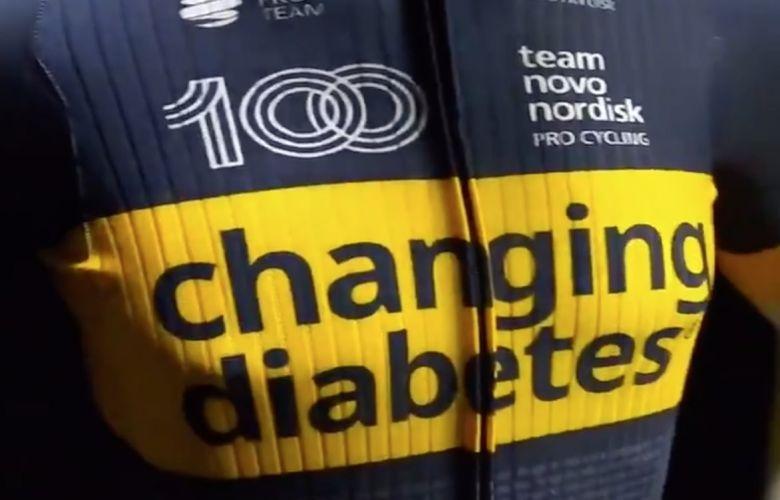 Route - Le Team Novo Nordisk dévoile son maillot pour la saison 2021