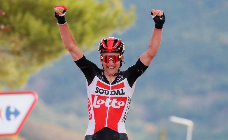 Tour d'Espagne - Tim Wellens : «J'avais peur de Michael Woods»
