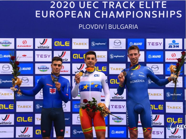 Piste - Europe - Sebastian Mora Vedri remporte la course aux points