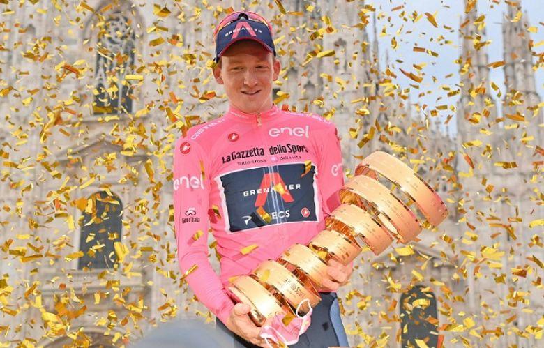 Route - Tao Geoghegan Hart : «Gagner le Giro m'a coûté une voiture»