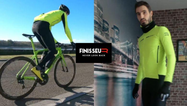 Matériel - A découvrir la veste Finisseur Pro testée par Cyclism'Actu