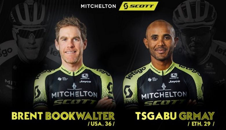 Route - Mitchelton-SCOTT prolonge Brent Bookwalter et Tsgabu Grmay