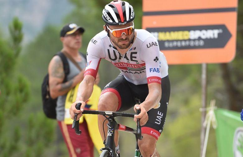 Route - Oliviero Troia a prolongé d'un an avec UAE Team Emirates