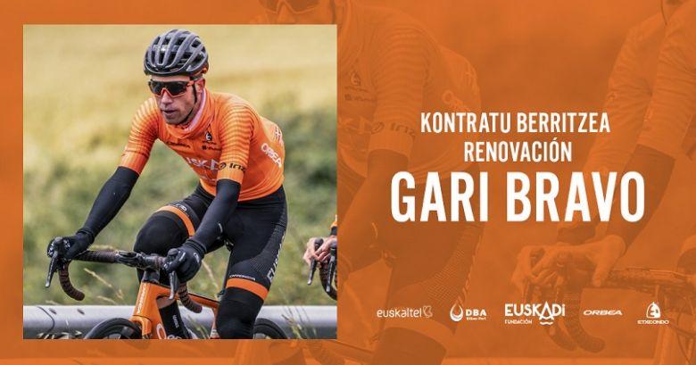 Route - Euskaltel-Euskadi conserve Garikoitz Bravo jusqu'en 2021