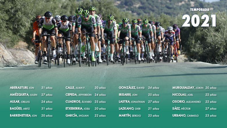 Route - Un effectif de 20 coureurs pour Caja Rural-Seguros RGA en 2021
