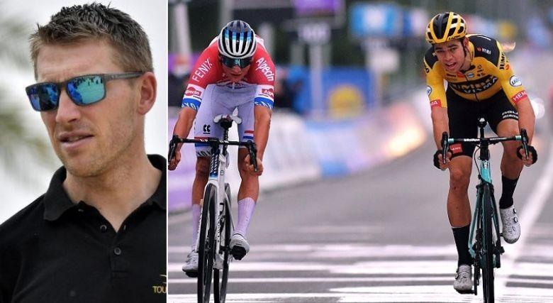 Route  - Axel Merckx  : «Un peu inquiet pour Van der Poel et Van Aert»
