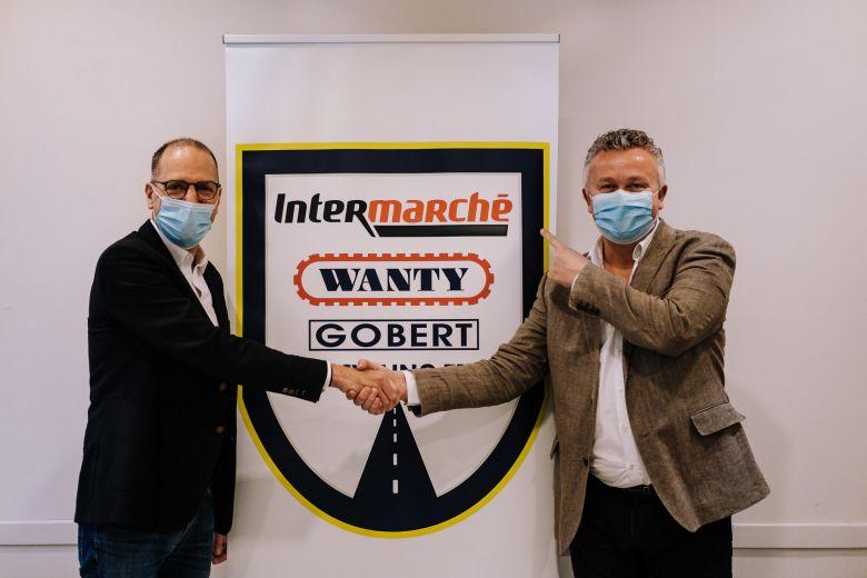 Route - Intermarché, nouveau sponsor titre de l'équipe Wanty Gobert !