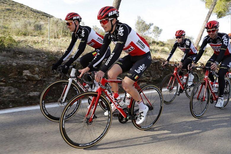 Route - Lotto-Soudal divisée en 3 groupes pour son stage en Espagne