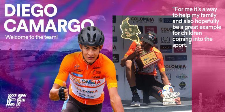 Transfert - Diego Camargo s'engage avec l'équipe EF Pro Cycling