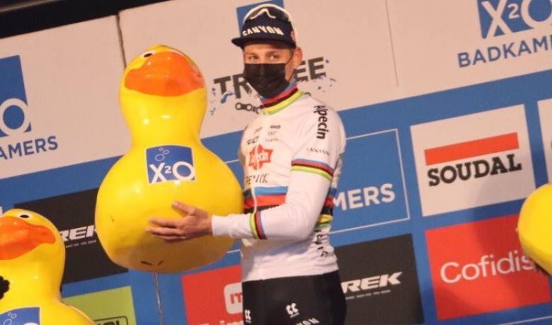 Cyclo-cross - Mathieu van der Poel : «Ça s'est mieux passé que prévu»