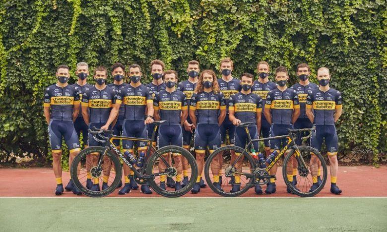Route - Un effectif de 17 coureurs en 2021 pour le Team Novo Nordisk