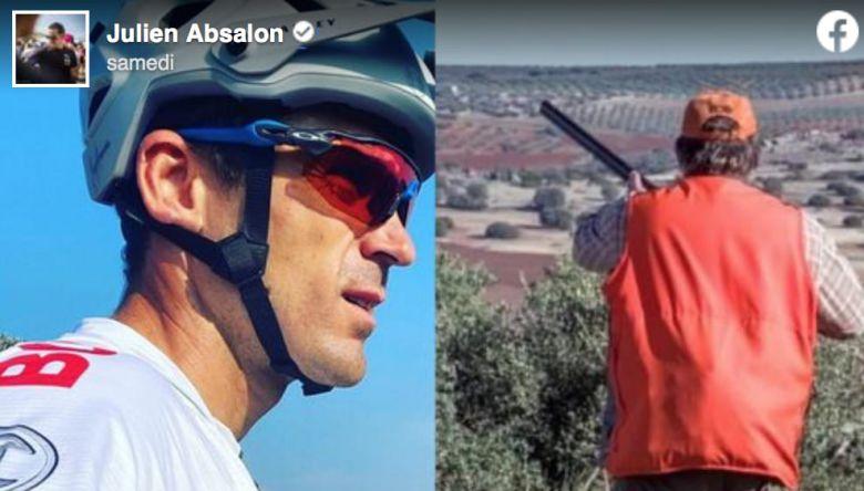 Faits Divers - Un chasseur a braqué son fusil sur Julien Absalon !