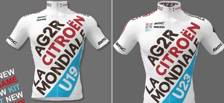 Route - Des nouveautés chez les U23 et U19 d'AG2R Citroën Team