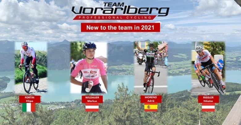 Route - Quinze coureurs pour l'équipe Vorarlberg Santic en 2021